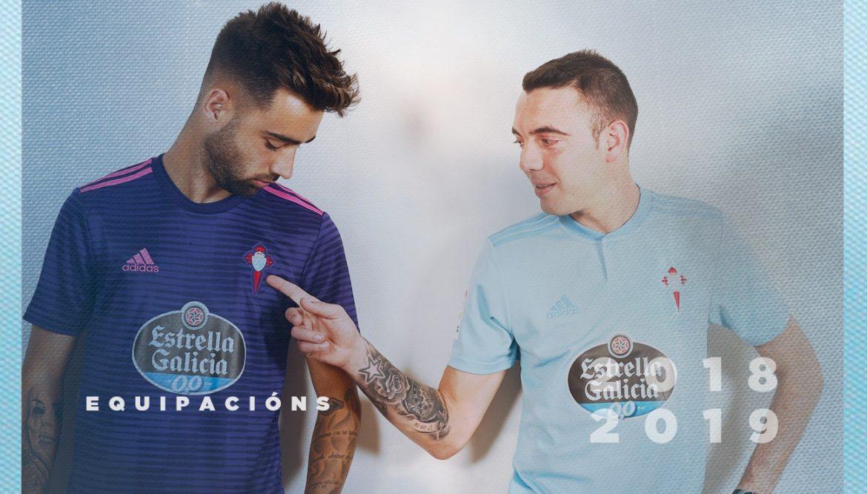 Camisas do Celta de Vigo 2018-2019 Adidas