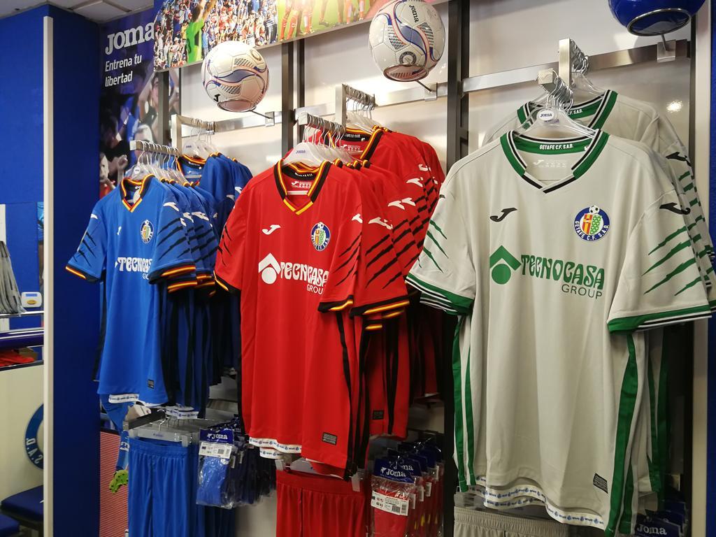 Camisas do Getafe CF 2018-2019 Joma