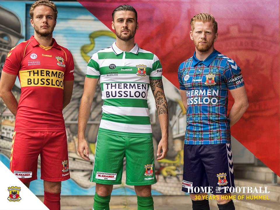 Camisas do Go Ahead Eagles 2018-2019 Hummel