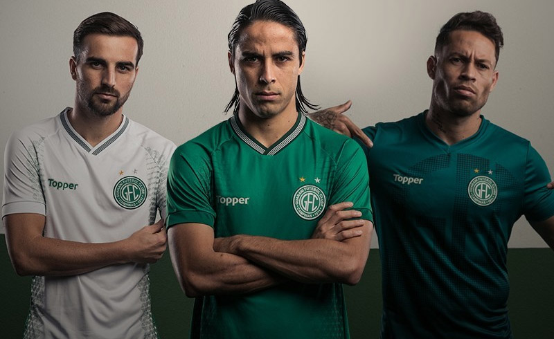 Camisas do Guarani 2018-2019 Topper