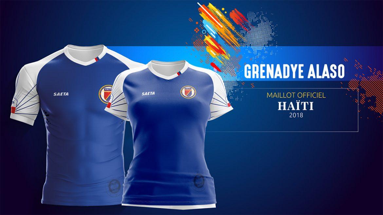 Camisas do Haiti 2018-2019 Saeta