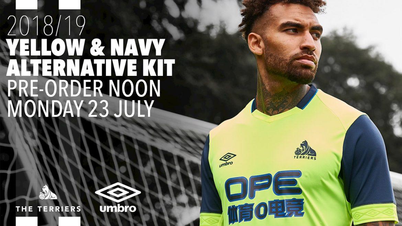 Camisas do Huddersfield Town 2018-2019 Umbro