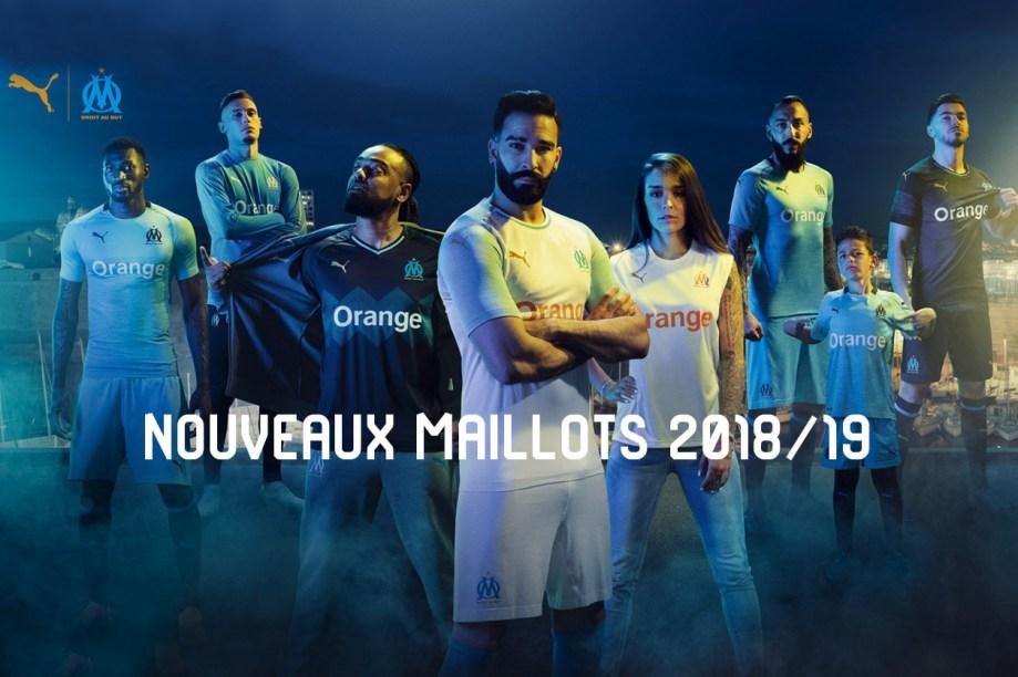 Camisas do Olympique de Marseille 2018-2019 PUMA