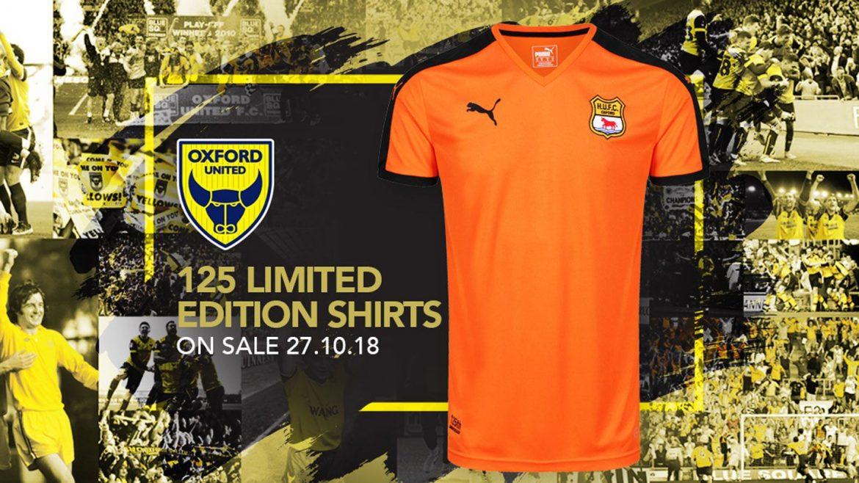 Camisas do Oxford United 2018-2019 PUMA