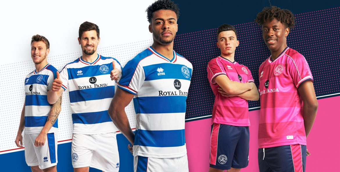 Camisas do Queens Park Rangers 2018-2019 Erreà