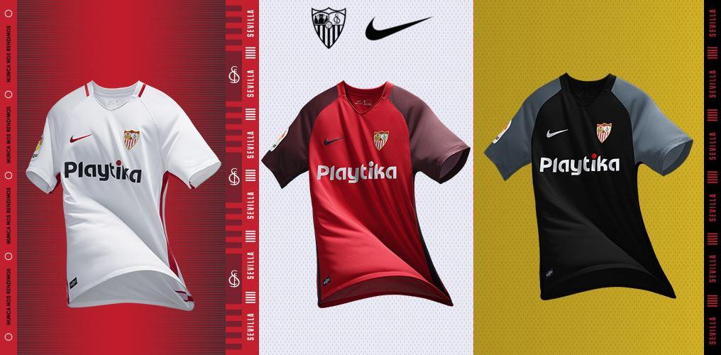 Camisas do Sevilla 2018-2019 Nike