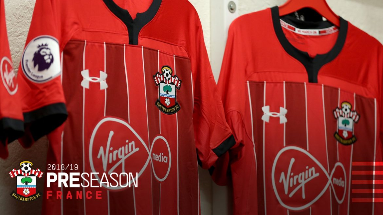 Camisas do Southampton 2018-2019 Under Armour