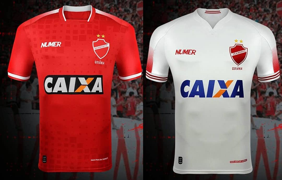 Camisas do Vila Nova 2018-2019 Numer