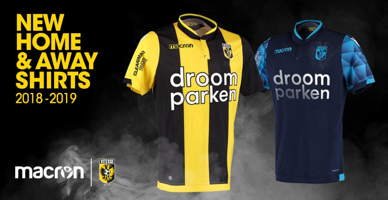Camisas do Vitesse 2018-2019 Macron