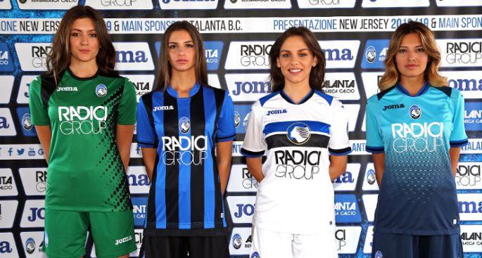 Camisas da Atalanta 2018-2019 Joma