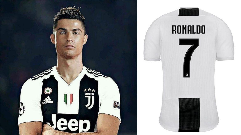 Camisa da Juventus de Cristiano Ronaldo