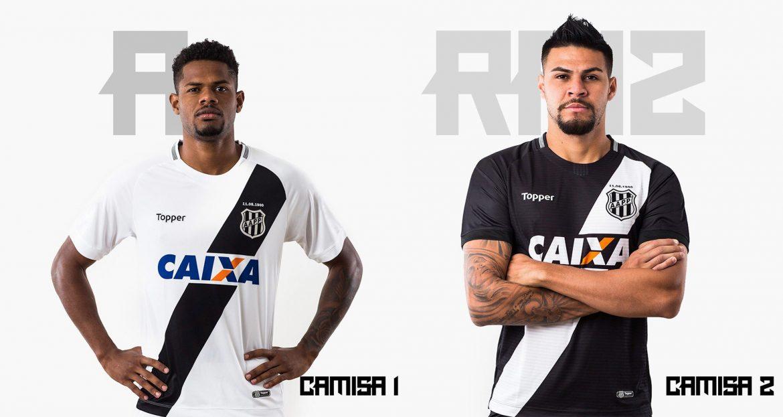Camisas da Ponte preta 2018-2019 Topper