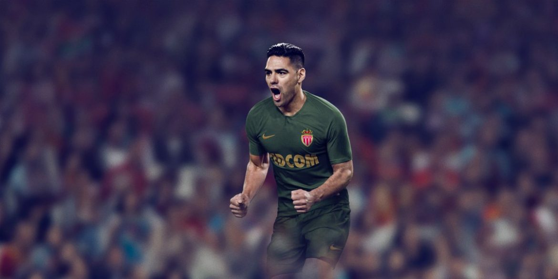 Camisas do AS Monaco 2018-2019 Nike Reserva