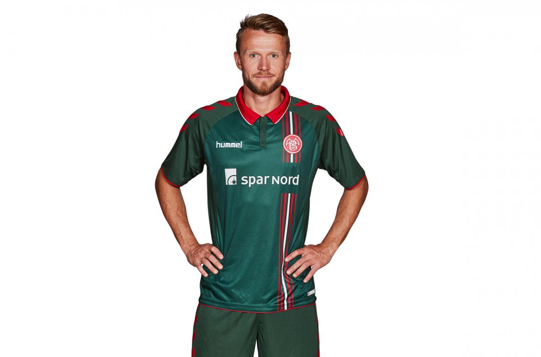 Camisas do Aalborg BK 2018-2019 Hummel