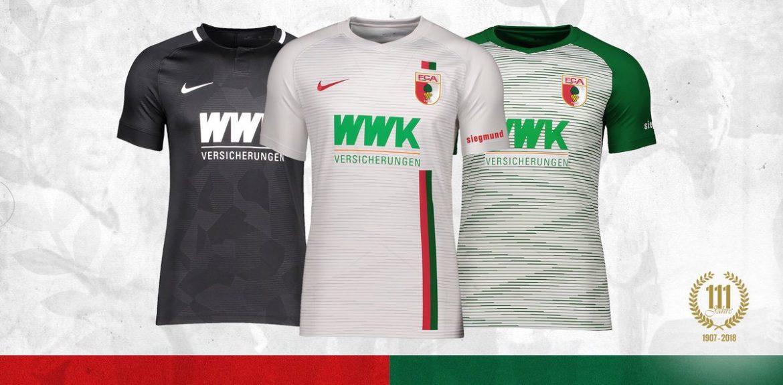 Camisas do Augsburg 2018-2019 Nike