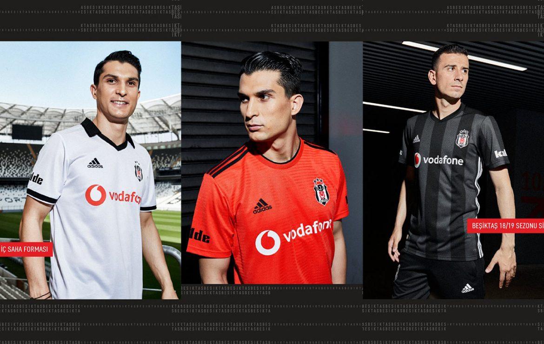 Camisas do Besiktas 2018-2019 Adidas