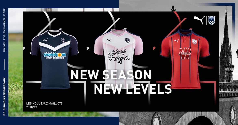 Camisas do Bordeaux 2018-2019 PUMA