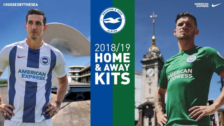Camisas do Brighton & Hove 2018-2019 Nike