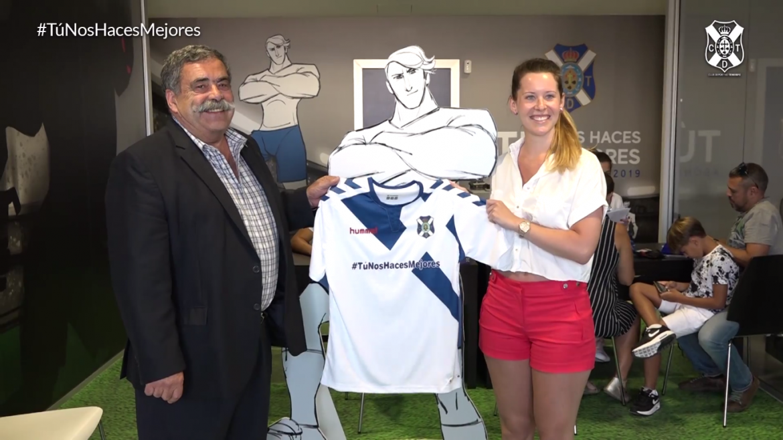 Camisas do CD Tenerife 2018-2019 Hummel
