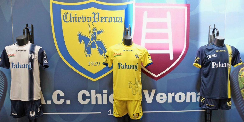 Camisas do Chievo Verona 2018-2019 Givova