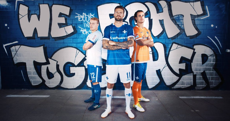 Camisas do Darmstadt 2018-2019 Craft