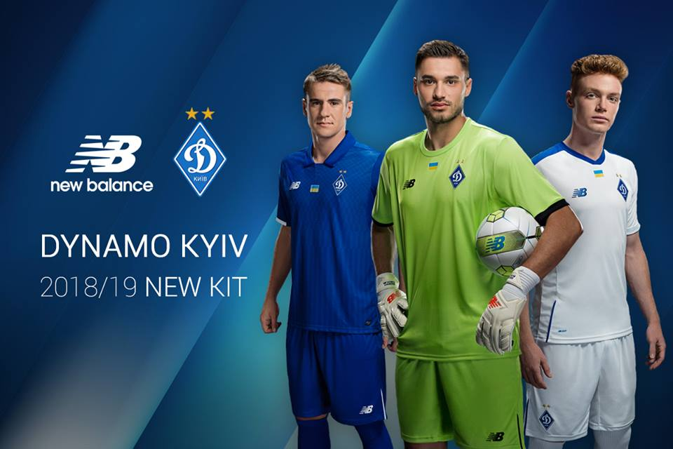 Camisas do Dynamo de Kiev 2018-2019 New Balance