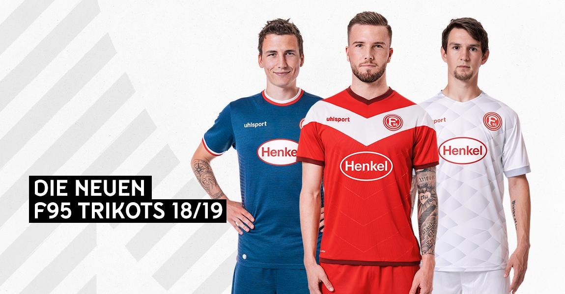 Camisas do Fortuna Dusseldorf 2018-2019 Uhlsport