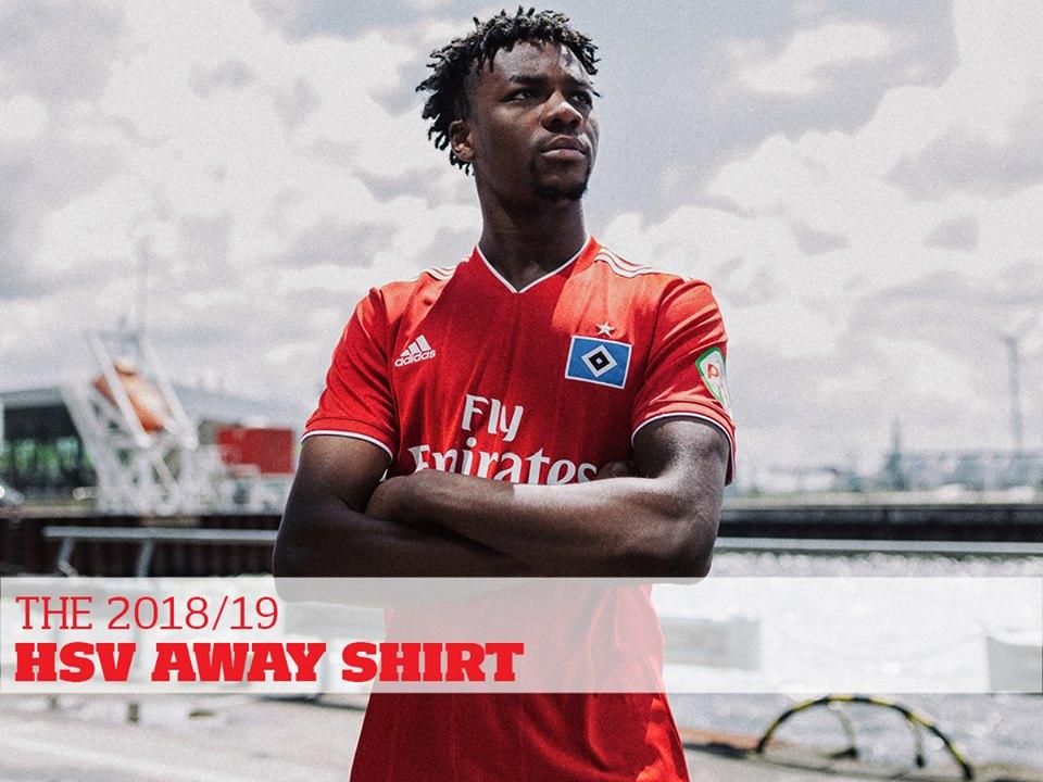 Camisas do Hamburgo SV 2018-2019 Adidas