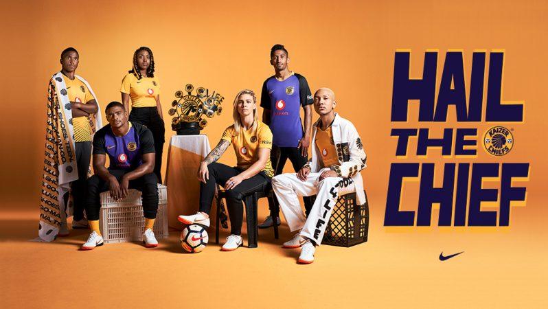 Camisas do Kaizer Chiefs 2018-2019 Nike