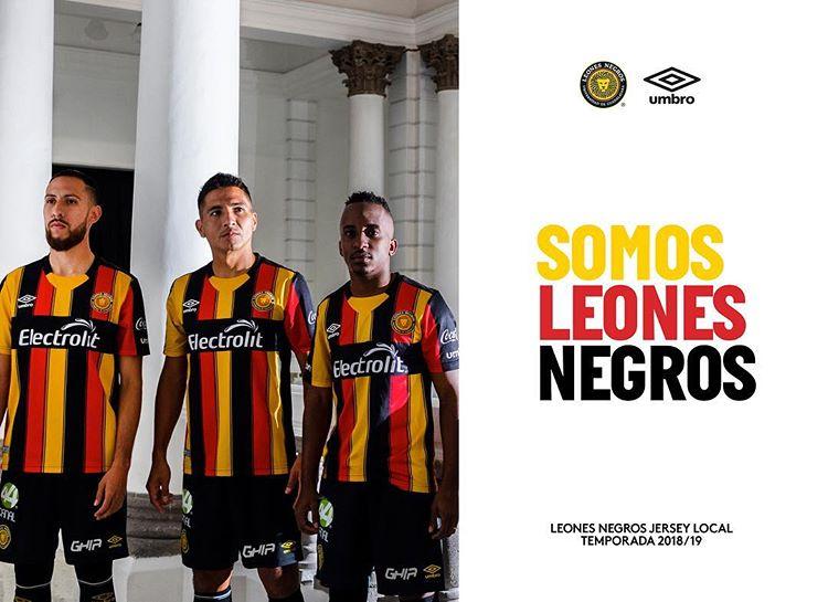 Camisas do Leones Negros 2018-2019 Umbro