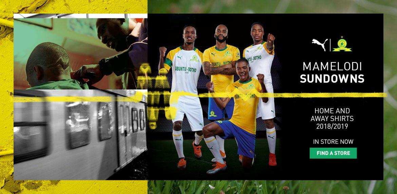 Camisas do Mamelodi Sundowns 2018-2019 PUMA