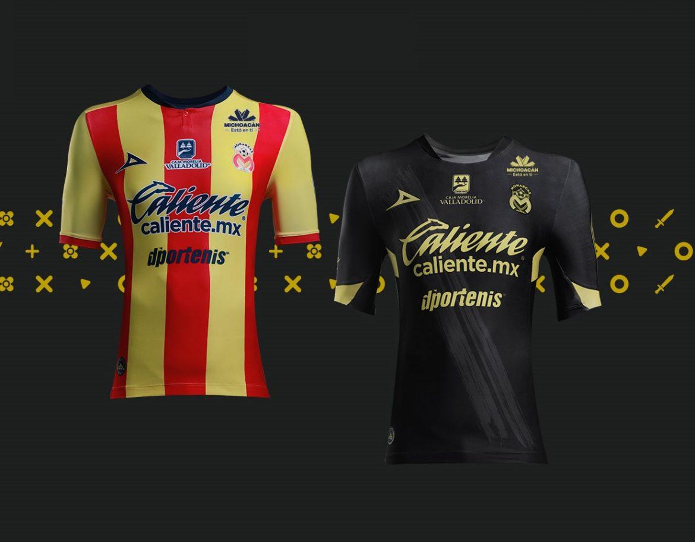Camisas do Monarcas Morelia 2018-2019 Pirma
