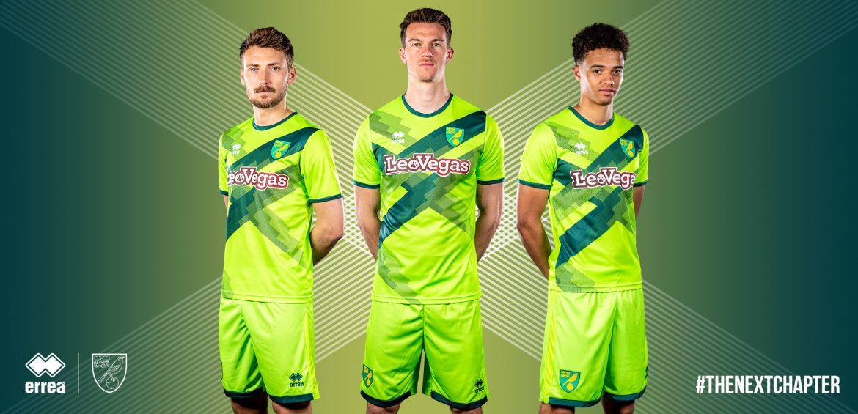 Camisas do Norwich City 2018-2019 Errea Terceira