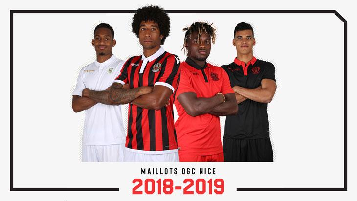 Camisas do OGC Nice 2018-2019 Macron