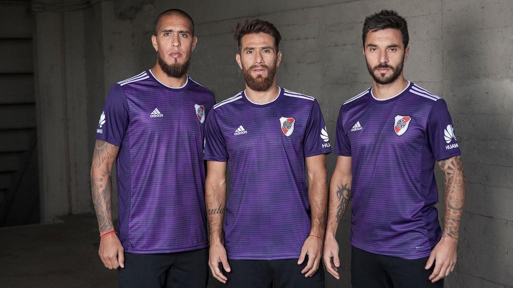 Camisas do River Plate 2018-2019 Adidas