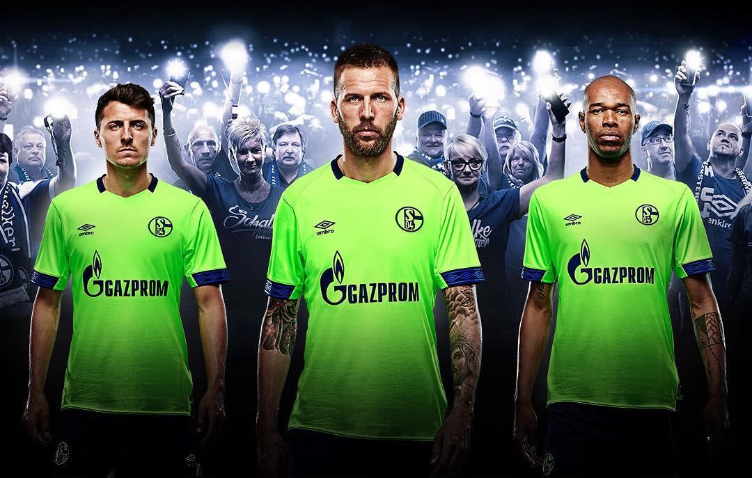 Camisas do Schalke 04 2018-2019 Umbro Terceira
