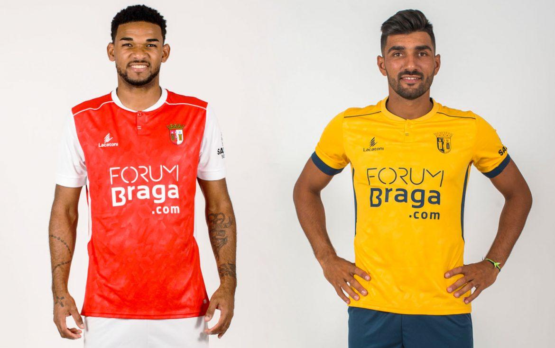 Camisas do Sporting Braga 2018-2019 Lacatoni
