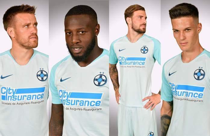 Camisas do Steaua Bucareste 2018-2019 Nike