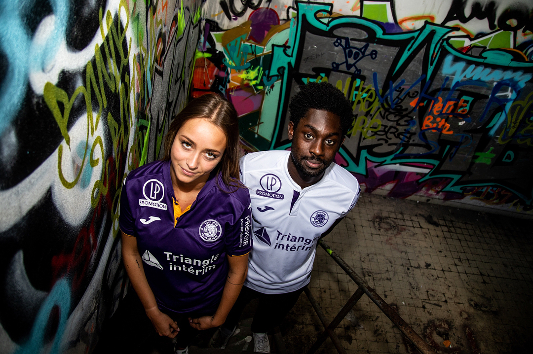 Camisas do Toulouse FC 2018-2019 Joma