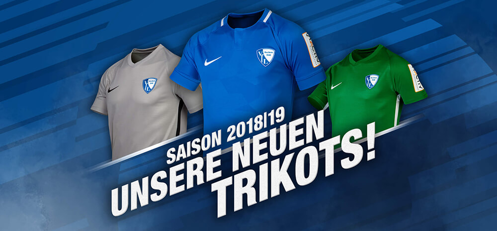 Camisas do VFL Bochum 2018-2019 Nike
