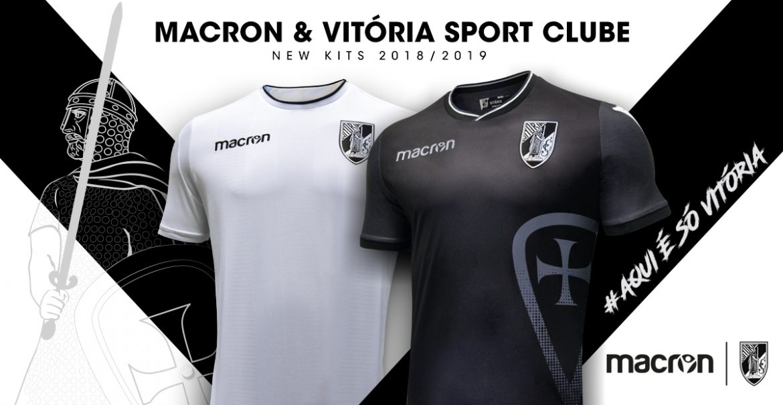Camisas do Vitória de Guimarães 2018-2019 Macron