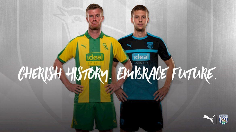 Camisas do West Bromwich Albion 2018-2019 Puma