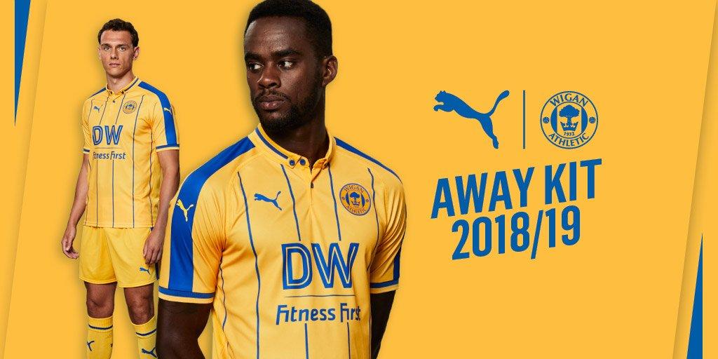 Camisas do Wigan Athletic 2018-2019 PUMA
