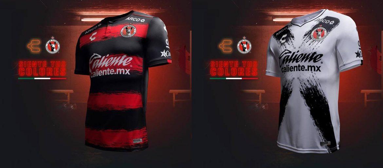 Camisas do Xolos de Tijuana 2018-2019 Charly Futbol abre