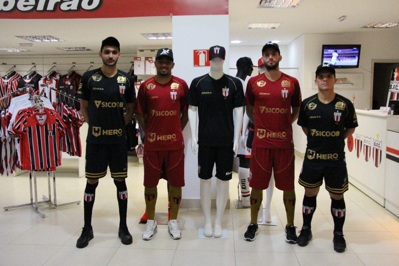 Camisas do centenário do Botafogo-SP 2018-2019 Kanxa