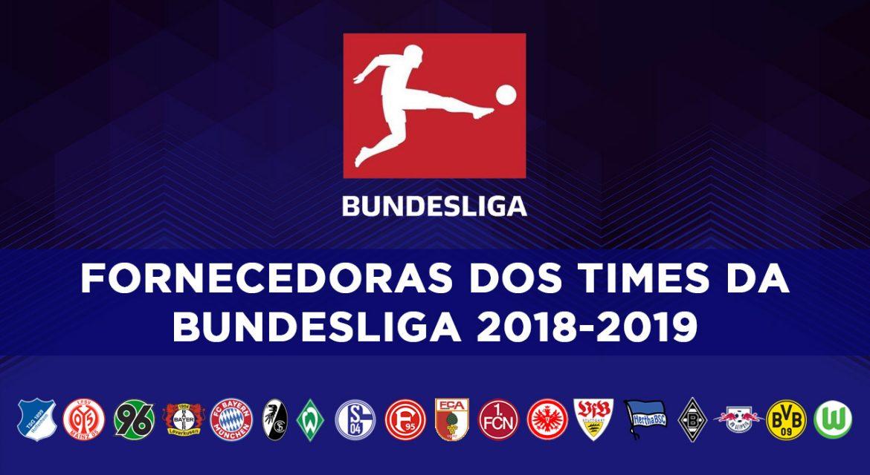 Fornecedoras da Bundesliga 2018-2019
