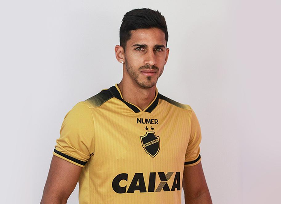 Terceira camisa do Vila Nova 2018-2019 Numer
