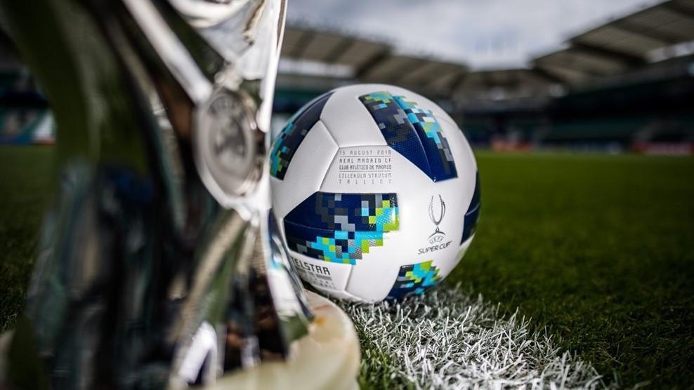 Adidas lança bola oficial da Supercopa da UEFA
