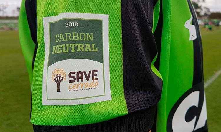 América-MG usará selo especial de primeiro clube carbono neutro no Brasil