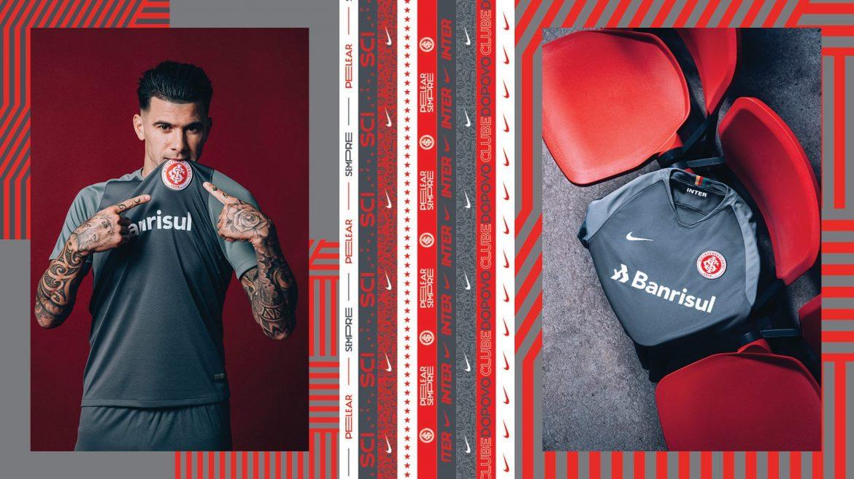 Camisa cinza do Internacional 2018-2019 Nike